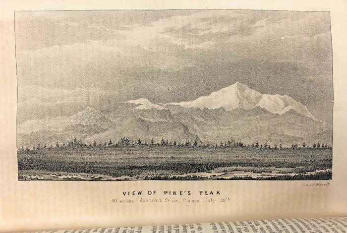 Figure 2: 'View of Pikes Peak'